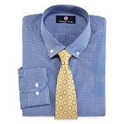 Thomas Stone Dress Shirt and Tie Set - Big & Tall