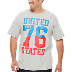 United States 76 Graphic Tee - Big & Tall