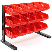Stalwart™ 15-pc. Bench-Top Parts Rack
