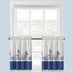 Afternoon Tea Rod-Pocket Window Tiers