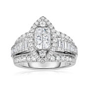 Harmony Eternally in Love 1¾ CT. T.W. Diamond Marquise-Shaped Ring