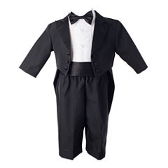 Keepsake® 4-pc. Black Tuxedo Set - Boys newborn-24m