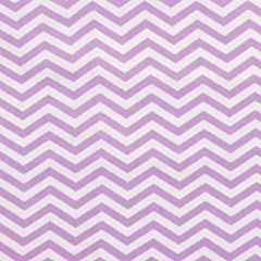 Trend Lab Lilac Chevron Delux Flannel  Crib Sheet