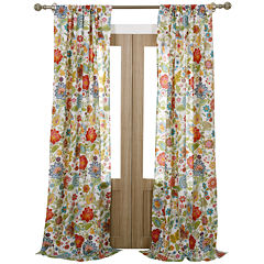 Greenland Home Fashions Astoria Floral 2-pack Curtain Panels