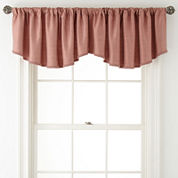 Royal Velvet® Supreme Rod-Pocket Rounded Ascot Valance