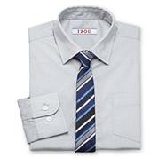IZOD® Shirt and Clip-On Tie Set - Boys Husky