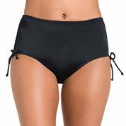Jamaica Bay® Adjustable-Side Brief Swim Bottoms