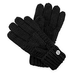 Liz Claiborne® Braided Cable Knit Gloves