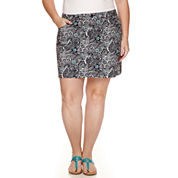 St. John's Bay® Lace Border Blouse or Print Skort