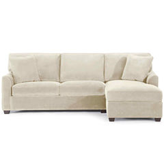 Fabric Possibilities Sharkfin-Arm 2-pc. Right-Arm Chaise/Loveseat Sectional