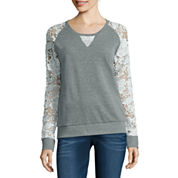 i jeans by Buffalo Lace Sweatshirt