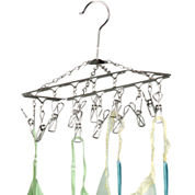 Honey-Can-Do® Chrome Hanging Drying Rack