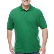 The Foundry Big & Tall Supply Co. Short Sleeve Easy Care Polo- Big & Tall