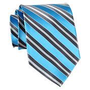 Stafford® Brett Stripe Silk Tie