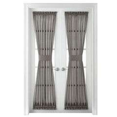 Royal Velvet® Plaza Thermal Interlined Rod-Pocket Door Panel