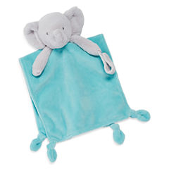 Carter's® Plush Elephant Blanket with Pacifier Loop