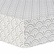 Trend Artdeco Fitted Crib Sheet