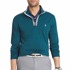 IZOD Long Sleeve Quarter Zip Pullover