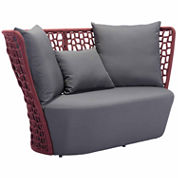 Zuo Modern Faye Bay Beach Patio Sofa