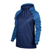 Nike® Long-Sleeve Therma All Time Swoosh Po Hoodie