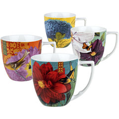Waechtersbach Impressions Set of 4 Assorted Mugs