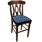Klear Vu The Gripper® 2-Pack Trellis Delightfill Chair Cushions