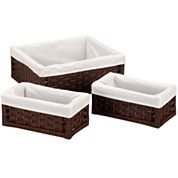 Household Essentials® Set of 3 Paper Rope Utility Baskets