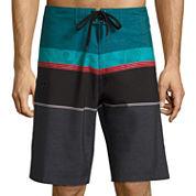 Burnside Stripe Board Shorts