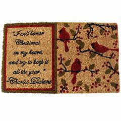Dickens Rectangular Doormat - 18