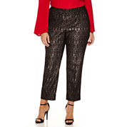 Worthington Ankle Pants Plus
