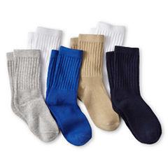 Okie Dokie® 6-pk. Crew Socks - Boys