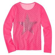 Total Girl Long Sleeve Sweatshirt - Big Kid