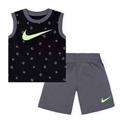 Nike Infant Boy AOP Muscle Tee and Short Set
