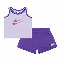 Nike Infant Girl Futura Tank and Short Set