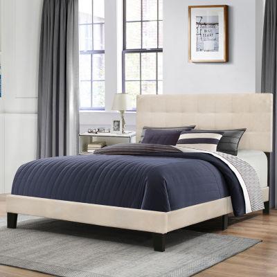 bedroom daniella upholstered bed