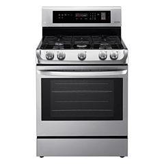 LG 6.3 cu. ft. Capacity Freestanding Single Oven Gas Range with ProBake Convection™ and EasyClean®