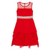 My Michelle® Sequin Cascade Dress - Girls 7-16