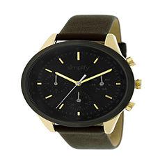 Simplify Unisex Brown Strap Watch-Sim3803