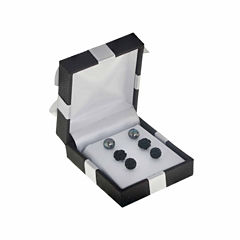 3-pc. Black Pearl Sterling Silver Earring Sets