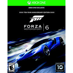 Forza 6 Video Game-XBox One