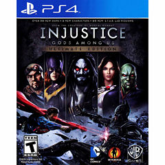 Injustice Gods Among Ultimate Edition Video Game-Playstation 4