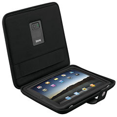 iHome iDM69 iPad Case and Stand with Built-In Rechargeable Stereo Speakers Black