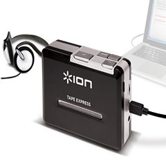 ION Tape Express USB Cassette Tape to MP3 Converter