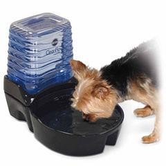 K & H Manufacturing CleanFlow Ceramic Dog Bowl with Reservoir, 80 Oz Bowl + 90 Oz Reservoir