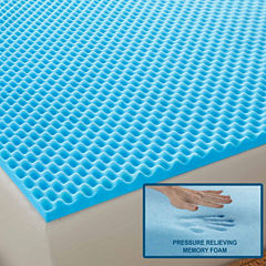Arctic Sleep™ by Pure Rest™ Cool-Blue Memory Foam Topper