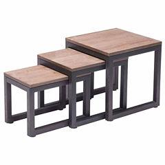 Zuo Modern Civic Center Nesting Tables