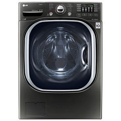 LG ENERGY STAR®  4.5 cu. ft. Ultra Large TurboWash High-Efficiency Front-Load Washer with NFC Tag On and Allergiene