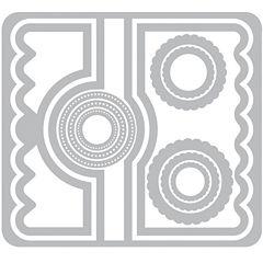 Sizzix® Framelits Circle no.2 Flip-Its Card 11-pc. Nested Die Set