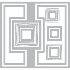 Sizzix® Framelits 12-pc. Nested Die Set - Square no.2 Flip-Its Card