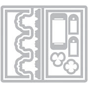 Sizzix® Framelits Triple Fancy Frame Flip-Its Card 9-pc. Nested Die Set